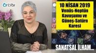 10 Nisan'da Venüs Neptün Kavuşumu ve Güneş Satürn Karesi