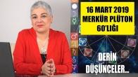 16 Mart'ta Merkür Plüton 60'lığı