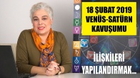 18 Şubat Venüs Satürn Kavuşumu