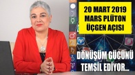 20 Mart'ta Mars ve Plüton Üçgen Açısı