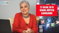 22 Ocak Venüs Jüpiter Kavuşumu