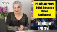 25 Nisan'da Oğlak Burcunda Plüton Gerilemesi