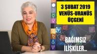 3 Şubat Venüs Uranüs Üçgeni