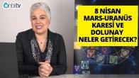 8 Nisan Mars Uranüs Karesi ve Terazi Burcunda Dolunay