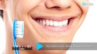 Diş bakımında nelere dikkat etmeliyiz?