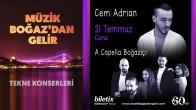 """Cem Adrian """"Müzik Boğaz'dan Gelir"""" Teknesinde"""