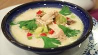 Kremalı Sebzeli Tavuk Çorbası