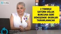 2 Temmuz Satürn Oğlak Burcuna Geri Dönüşünde Eksikler Tamamlanacak