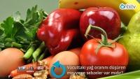 Vücuttaki yağ oranını düşüren meyve ve sebzeler var mıdır?