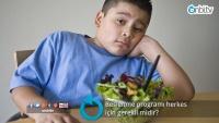 Beslenme programı herkes için gerekli midir?