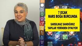 7 Ocak Mars Boğaya Geçiyor