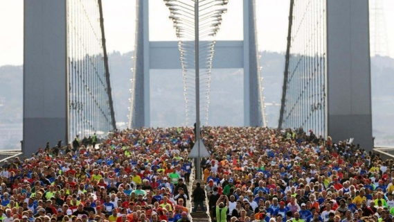 41. İstanbul Maratonu - İstanbul Senin, Durma Koş!