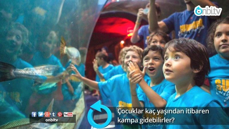 Çocuklar kaç yaşından itibaren kampa gidebilirler?